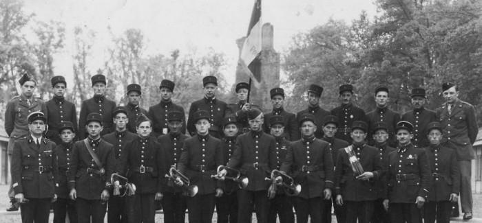 1945 – Photo Pompiers