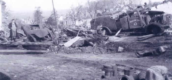 1944 – Arsenal après les bombardements alliés