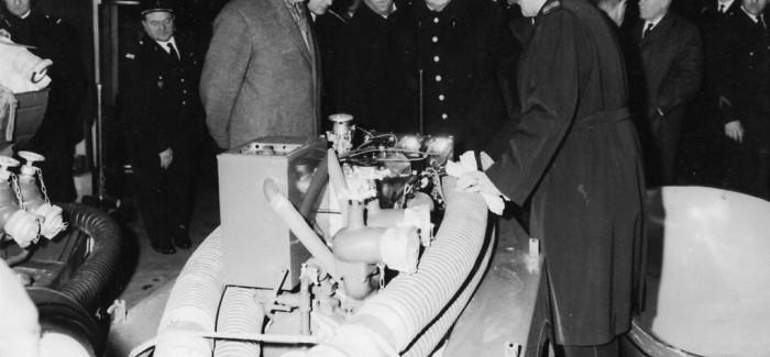 1966 – Démonstration du matériel
