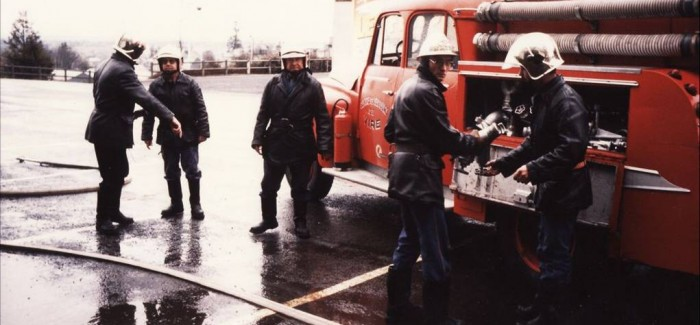 1987 – Intervention des Pompiers de Vire