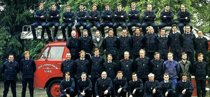 1988 – Photo Pompiers de Vire