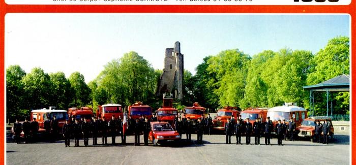 1988 – Calendrier des Pompiers de Vire