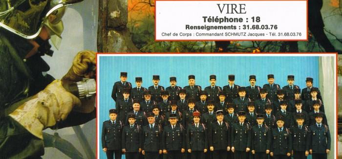 1991 – Calendrier des Pompiers de Vire