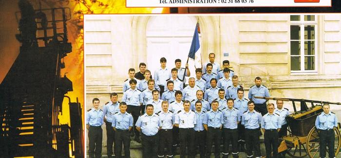 1997 – Calendrier des Pompiers de Vire