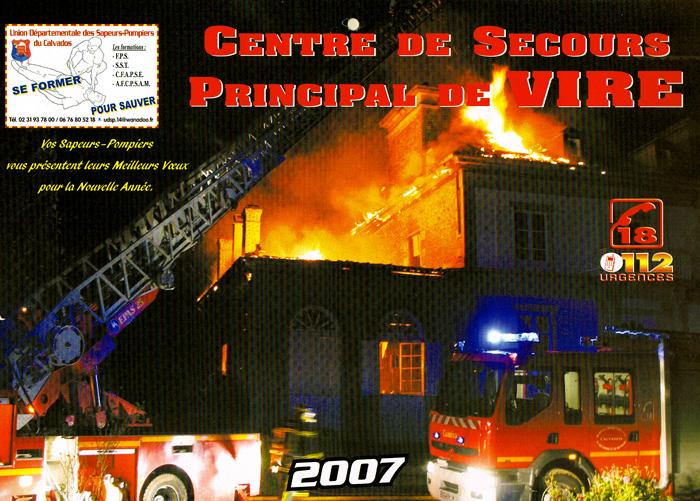 2007_Calendrier_pompiers_CSP_Vire