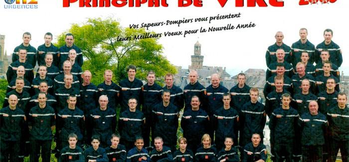 2009 – Calendrier des Pompiers de Vire