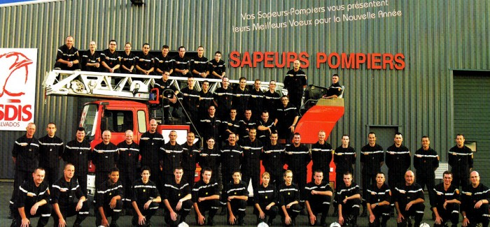 2010 – Calendrier des Pompiers de Vire