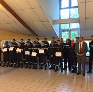 Remise de diplômes aux JSP